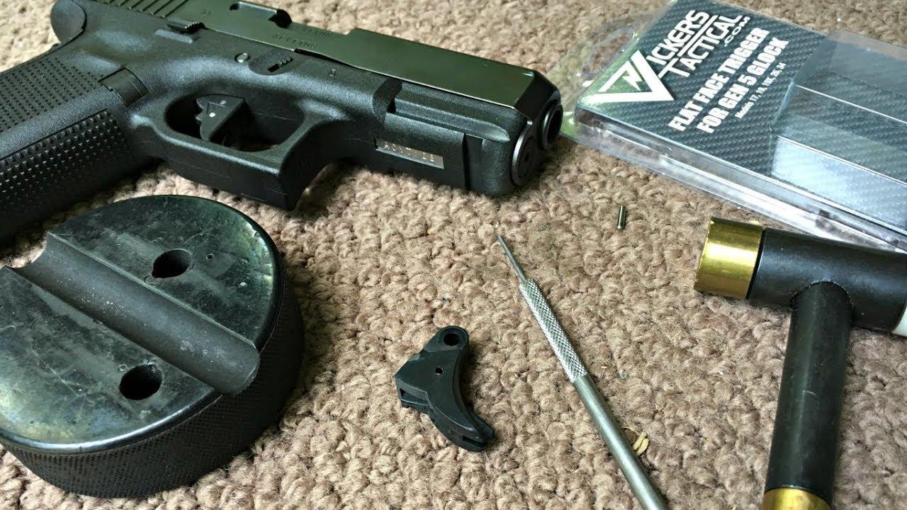 Installing a Vickers Tactical / Tango Down Gen 5 Flat Face Trigger