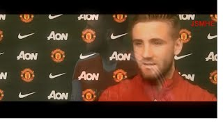luke shaw welcome to manchester united skills assist defending southampton 2014