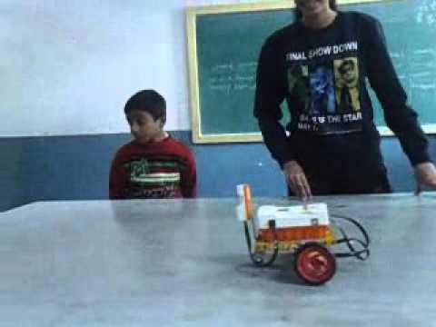 Sound follower Robot