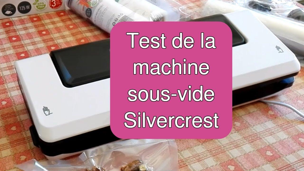test machine sous vide silvercrest lidl