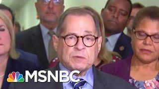 Nadler On Impeachment Resolution: 'Investigation Will Go Well Beyond' Mueller Report | MSNBC