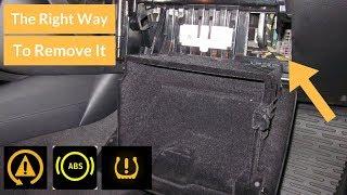 REMOVING TIRE PRESSURE LIGHT FOREVER! (E90,E91,E92,E93)