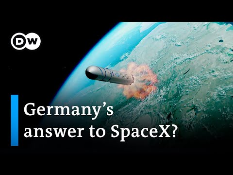 Carrier rocket developed by German start-up due for take-off next year | DW Business