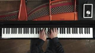 This is a piano recording demonstration using Apogee's audio interf...