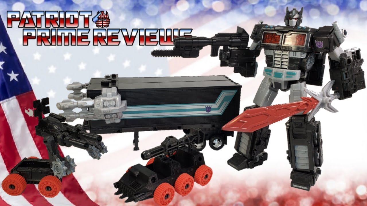 Firetox Designs Add-On Kit for Netflix Siege Nemesis Prime by Patriot Prime Reviews