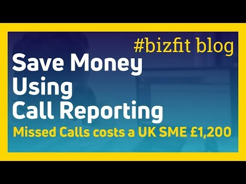 How Call Reporting Can Save Your Business £1,000's | #bizfit