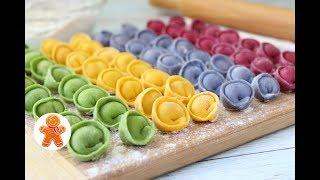 Цветные Домашние Пельмени без Красителей