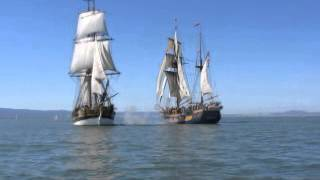 Tall Ship cannon fire, SF Bay, March 15, 2014