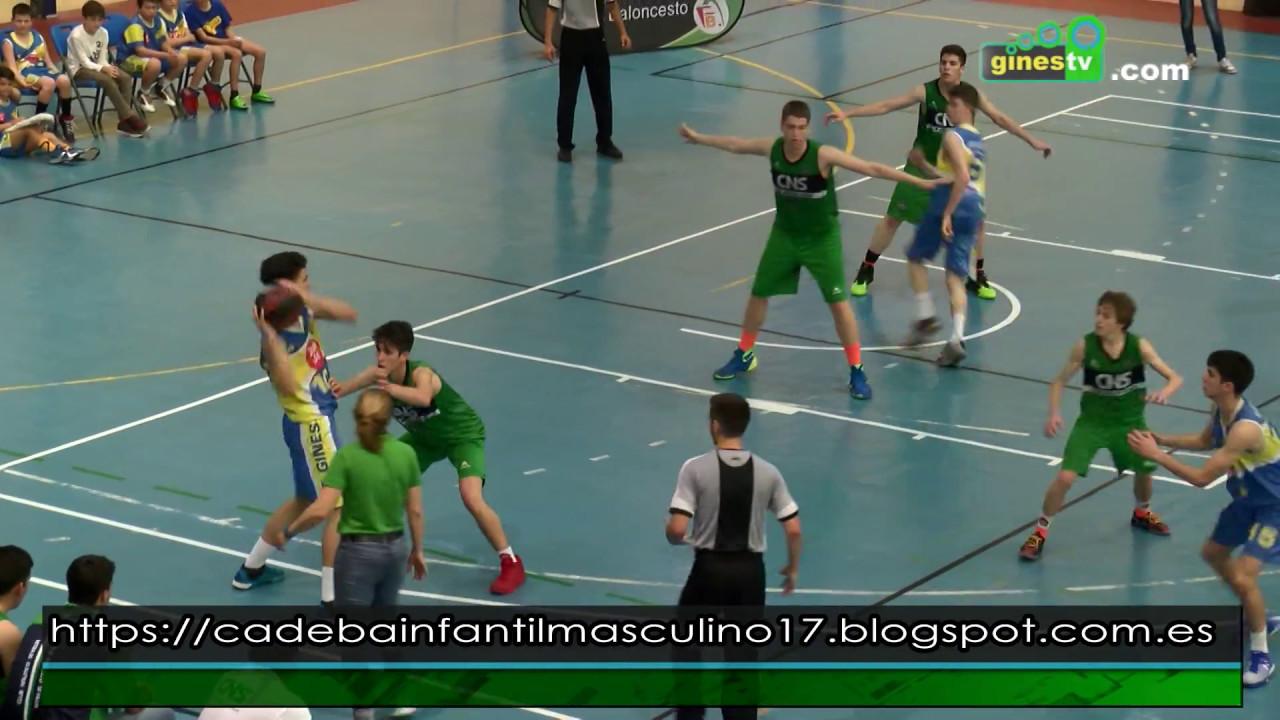 Gines acoge por primera vez el Campeonato de Andalucía de Clubes Infantil de Baloncesto