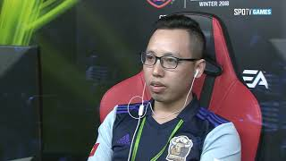 [Group Stage] adidas PRDATOR vs VN IMMORTALS set 2 [18.11.12] EACC WINTER 2018