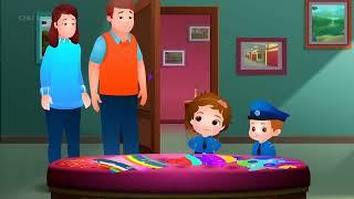 ChuChu TV Huevos Sorpresas de Policías – Episodio 11 - El Elefante Mágico (Colección) | ChuChu TV