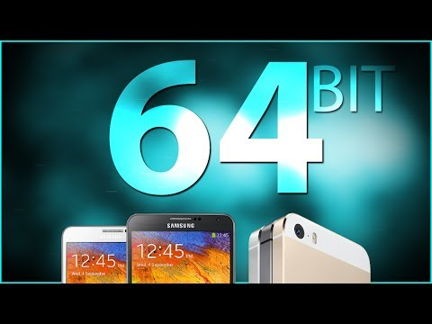 32-Bit vs 64-Bit Smartphones and Tablets