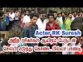Actor rk suresh has taken selfie with ajith fans thala ajith billa pandi mp3