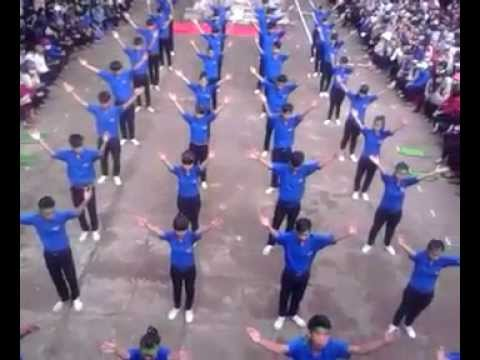 Sào Nam - Đồng diễn thanh niên 11/5 niên khóa 2014-2015