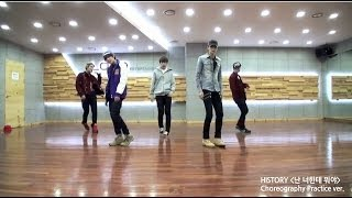 "[BEHIND] HISTORY(히스토리) : ""What am I to you?(난 너한테 뭐야)"" Choreography Practice(안무 연습) [ENG/JPN SUB]"