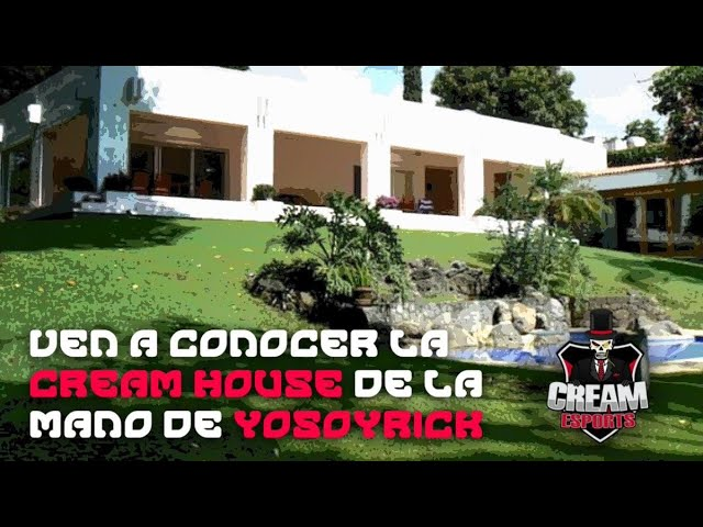 ¡CONOCE LA CREAM HOUSE CON YOSOYRICK!