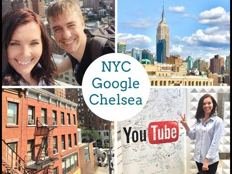 NYC arrival. Chelsea Market. Inside Google Offices