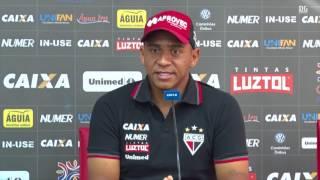 Para Walter pegar o São Paulo pressionado é melhor para o Atlético