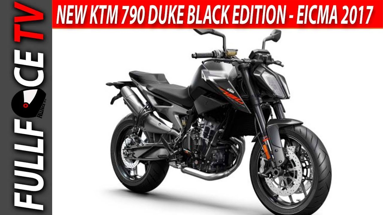 Awesome new ktm 790 duke black edition eicma 2017