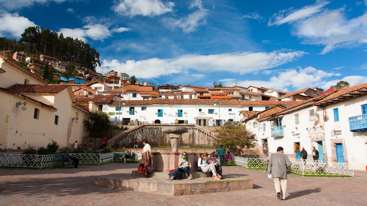 San Blas Neighborhood In Cusco Peru