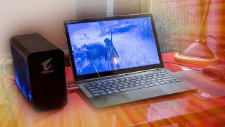 The ULTIMATE Travel Gaming Setup - LTT Classic