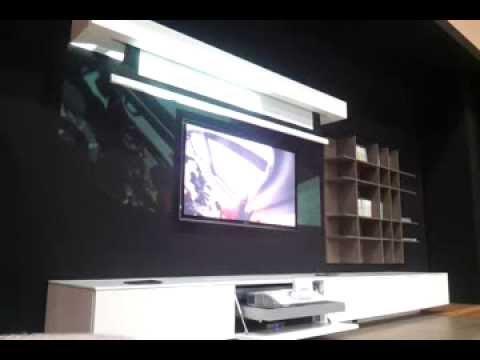 Il cinema a casa tua   mobile tv integrato con proiezione su telo ...