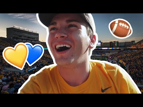 WVU FOOTBALL GAMEDAY EXPERIENCE 🏈💛💙 MY WVU LIFE VLOG