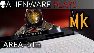 alienware area 51m gaming laptop mortal kombat 11 giveaway gameplay rtx 2080