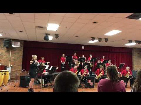 "Hancock County High School Jazz Band 2019 - ""Natural Woman"""
