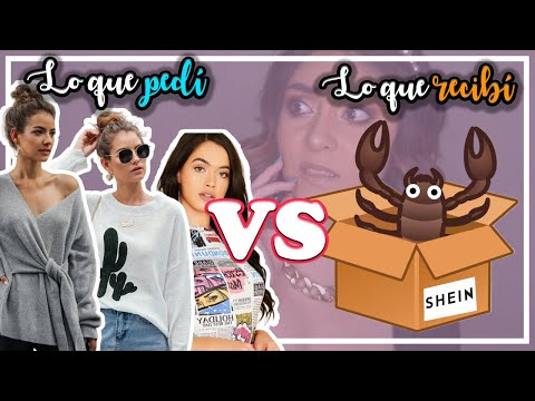 MEGA HAUL SHEIN 2020 LO QUE PEDI VS LO QUE RECIBI | UNA TAL PUI