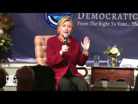 WATCH: Hillary Clinton delivers remarks at National Democratic Club
