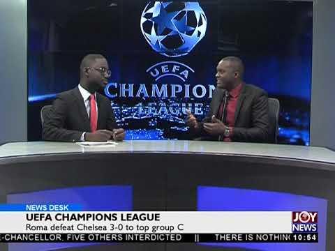 UEFA Champions League- Sports Desk on Joy News (1-11-17)