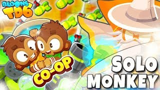 COOP | Solo Monkey | Alternatywne rundy i 5 tiery | Bloons TD6 PL