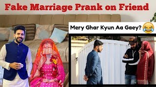 Fake Marriage Prank On Friend | Haris Awan