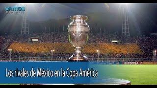 Conoce a los rivales de México en la Copa América 2015