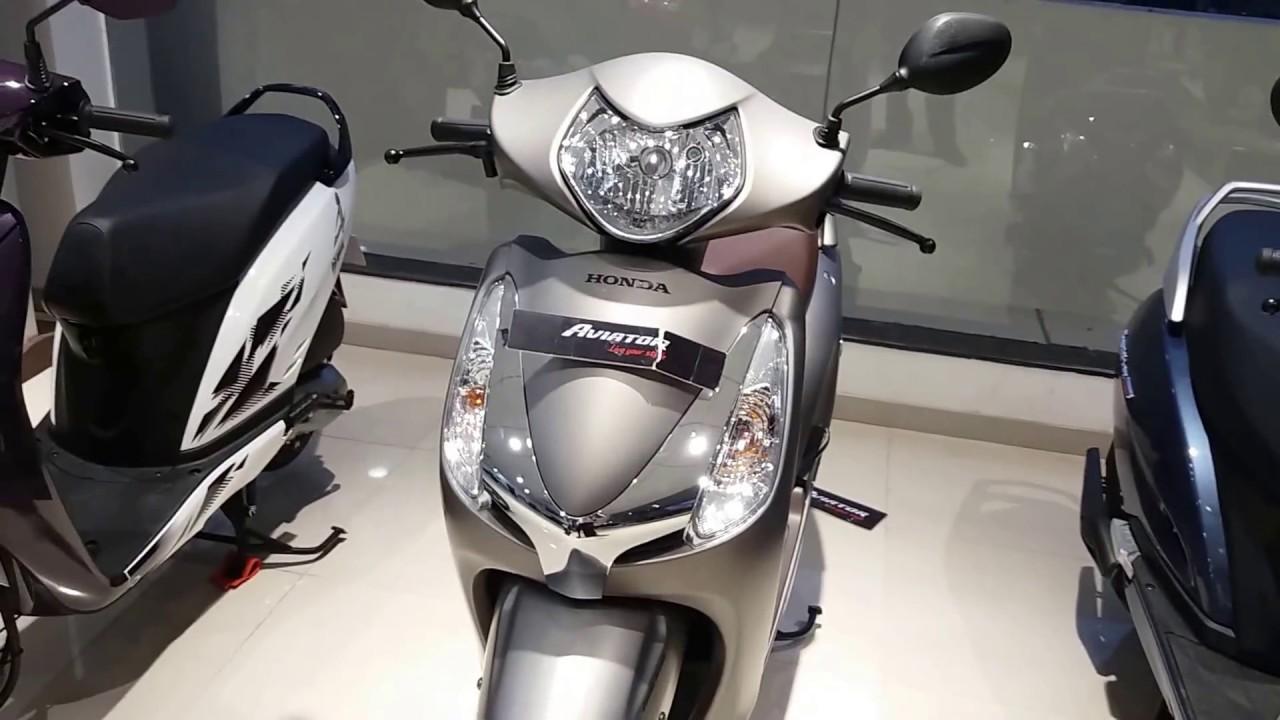 Honda Scooters New Colors Activa 125avaitoractiva I 3g Youtube