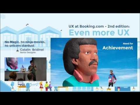 UX at Booking.com – No magic, no ninja moves, no unicorn stardust
