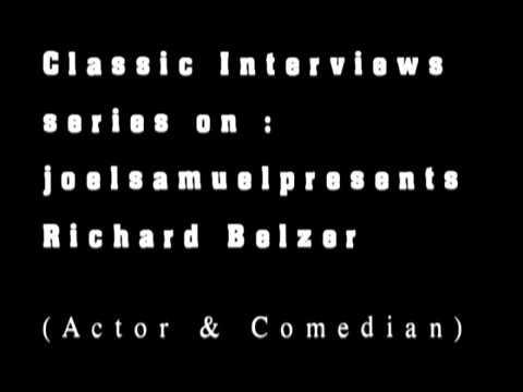 Richard Belzer Interview - Before Law & Order- Circa -1990