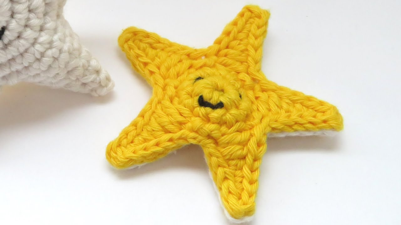 How To Crochet A Star Youtube