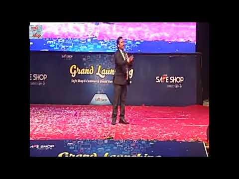 Madhav Singh kushwah triple crown leader speech, grand retail lunching of safe shop