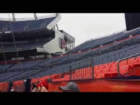 Sports Authority Field at Mile High Stadium Field View