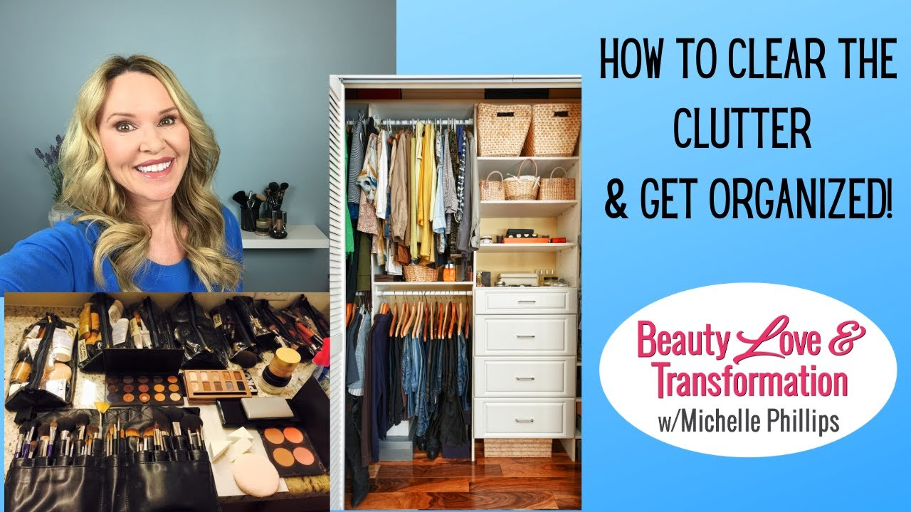 How to Get Rid of Clutter & Get Organized- with Mary Cornetta