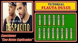Despacito - Luis Fonsi ft. Daddy Yankee en Flauta Dulce