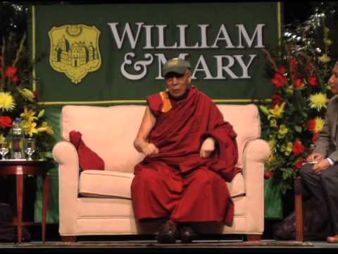 The Dalai Lama at William & Mary