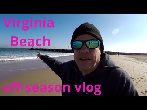 Virginia Beach Oceanfront (in The Off-season)