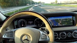 2017 Mercedes S Class Head Up display Drive Pilot Nightvision assist Distronic Plus Lane keeping