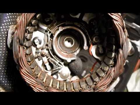 Ремонт генератора ваз 2107 своими руками видео