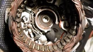 ВАЗ-2107. Немає зарядки АКБ. Ремонт генератора.
