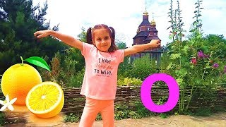 English alphabet for children  with  abc song .Kids funny video.