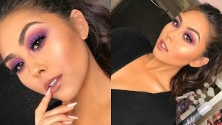 This is a Purple Smokey Eye Makeup Tutorial. Make sure to Get your Deck of Scarlet palette: http://bit.ly/2hNoTvC plus it's free shipping, cancel anytime, or you ...